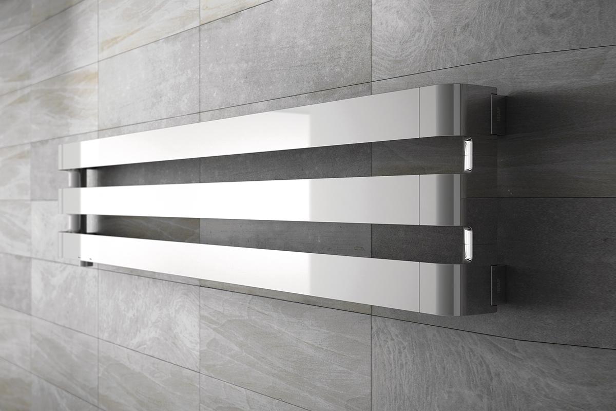 Bath shop boutique radiateurs de salle de bains baignoires douches hammam - Radiateur seche serviette horizontal ...